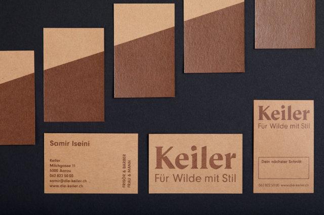 Siebdruck Branding Visitenkarten Terminkarten Craftpaper Corporate Design
