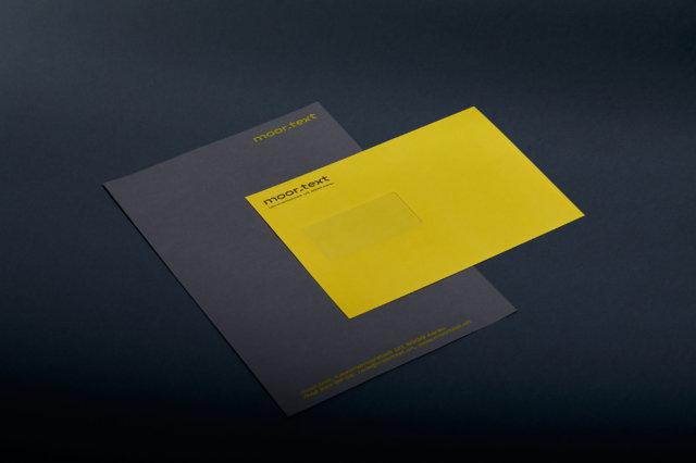 Briefpapier Corporate Design Logo Brrr-Font GT America