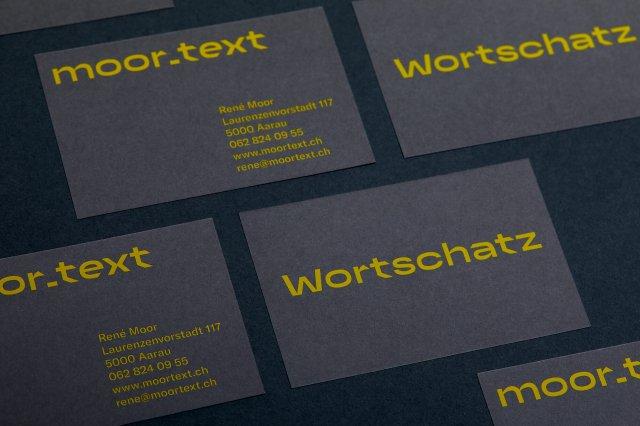 Visitenkarten Logo Corporate Design speziell ausgefallen mutig