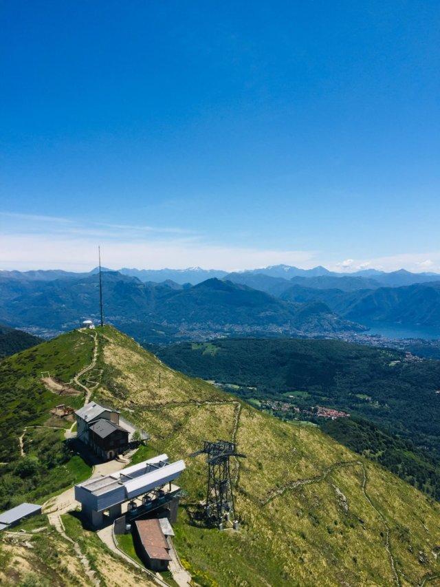 Monte Lema Aussicht