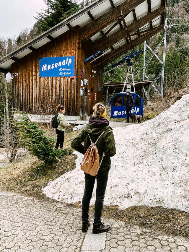 Teambuilding Engelberg Musenalp Maria Rickenbach Bahn